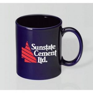 Can Cobalt Blue Mug