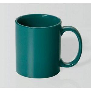 Can Dark Green Mug