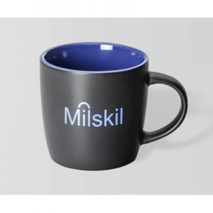 Boston Matte Black/Indigo Mug