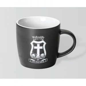 Boston Matte Black/White Mug
