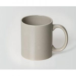 Can Grey Ceramic Mug