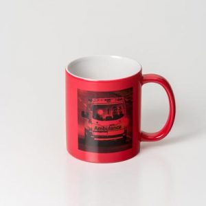 Can Dye Sub Magic Red/White Mug