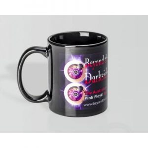 Can Dye Sub Black 2 Panels Mug