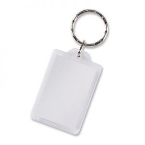 Lens Keyring - Rectangle