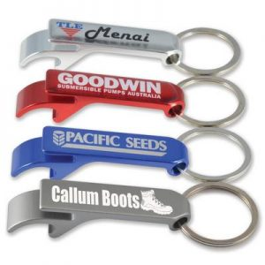 Aluminium Economy Pop Top Keyring