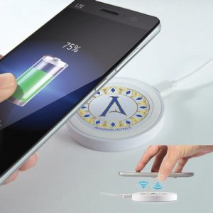 Promotional product, branded wireless charger